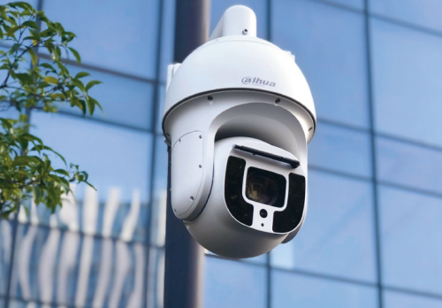 montaż monitoringu IP - kamera IP na zewnątrz