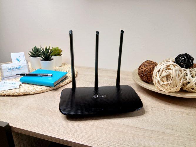 wymiana routera na nowy połączona z konfiguracją