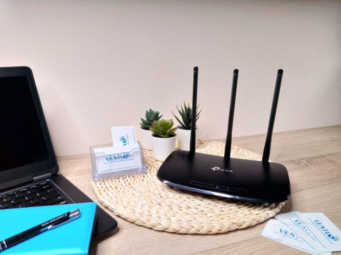 wymiana routera na nowy wraz z usługę podłączenia